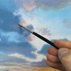 Realistic Oil Painting, Acrylic Painting Techniques, Sky Painting, Painting Videos, Painting & Drawing, Michael James Smith, Online Art School, 3 Piece Canvas Art, Surreal Artwork