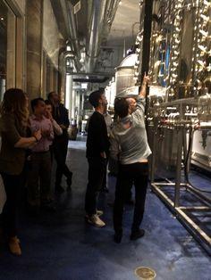 CH bartender Zach Heller teaching the distillation process during Mixology 101