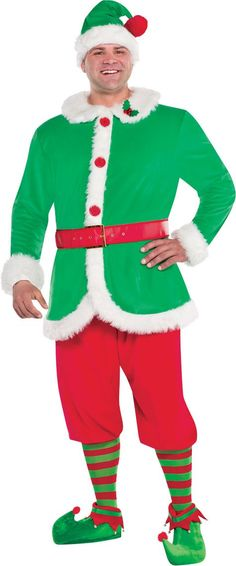 Adult North Pole Elf Costume - Party City