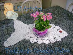 LiliArteira*Ü*ElianaTorres: Peixe em Crochê e Barrados