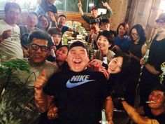 Rainie Yang with 一見不鐘情 drama crew