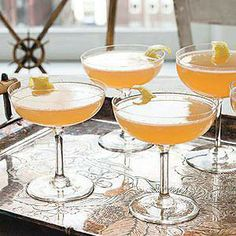 Sparkling Bourbon Cocktails