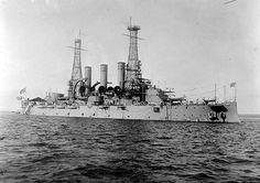MaritimeQuest - USS Rhode Island (Battleship #17) BB-17 Page 1