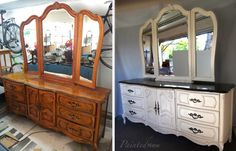 Painted New: Stanley Dresser Set