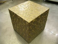Jim Oliveira Dark Gold Cube USA, 2008