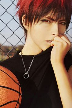 Kuroko no Basket, Kagami Cosplay............Yes You nailed it...but how tall are you?