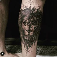 #tattoo #tattooideas #liontattoo #tattoos #tattooart #tattooinspiration #ink #inkedgay #inkedmen