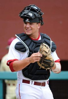 Indiana catcher Kyle Schwarber emerges as one of nation's best--went to elementary school with him! great guy!