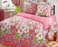 Купить постельное белье из бязи ЦВЕТОЧНЫЕ НАПЕВЫ 1,5-сп 3D от производителя Cleo (Россия)