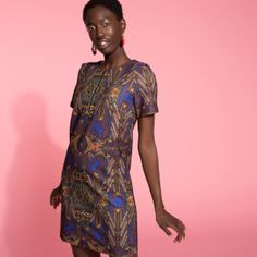Now on eboutic. Green Spring Dresses, Red Indian, Indian Patterns, Pink Flowers, Sari, Purple, Shirts, Color, Clothes