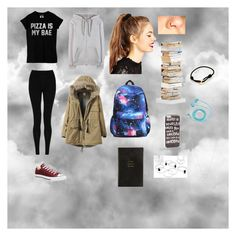 """Untitled #22"" by bealwayssmiling on Polyvore featuring M&S Collection, T By Alexander Wang, Converse, JFR, FOSSIL, ASOS, Tiffany & Co., Cartier, Smythson and Opinion Ciatti"