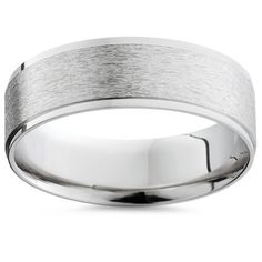 Item #: WB3661PALWidth: 6 mmWeight: 5.6 gMetal: 950 PalladiumDiamond Quantity: 0 This classic mens wedding band made of solid palladium. All of our palladium bands are die struck, seamless and sure to last you a lifetime. This band measures 6mm wide and has a raised brushed center with bright edges. The inside edge is rounded for comfortable wear.