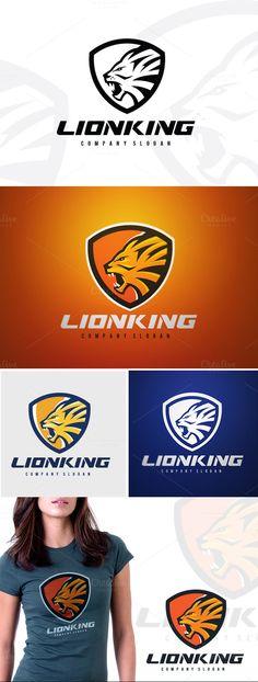 Lion Sports by Super Pig Shop on Creative Market