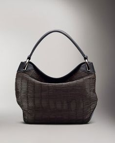 Allegra Braided Leather Hobo Bag, Large by Akris at Bergdorf Goodman. $2,990