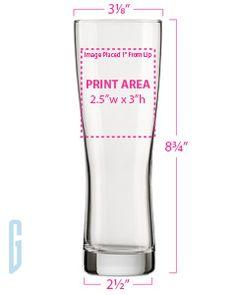 Arc H6288 Oslo 20 oz Pilsner - Glassware Grandstand Sportswear and Glassware