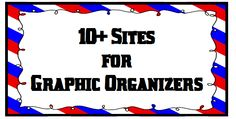 10+ Free Sites for Graphic Organizers…updated!