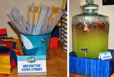 Kryptonite glow straws