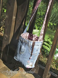 Creating my way to Success: Upcycling Jeans - part two - using specific parts