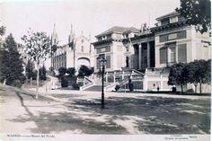 Museo del Prado, hacia 1905. Tarjeta Postal. J.Lacoste (sucesor de Laurent). Museo de Historia (Madrid)