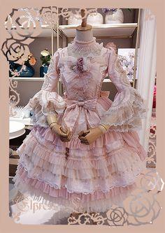 Elpress L -The Promise of Love- Gorgeous Lolita OP Dress