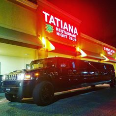 VIP CUSTOMERS … #tatianas #nightclub #restaurant #vip #lounge #hummer #lmousine #limo #nightout #show #russian #miami #aclasslimos #aclass #luxury #luxuryliving #saintpersburg #dontdrinkanddrive (at...