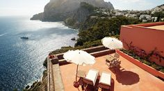 View from Hotel Punta Tragara, Capri
