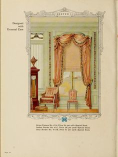 Designed with Unusual Care :: Home decoration, 1917 / Alfred Peats Co.