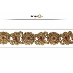 Embroidery Cutwork Lace - 011397 Rs1,463.00 / 9 Meter Roll