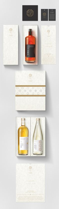 Korean Craft Liquor Brand & Bottle, Packaging Design on Behance