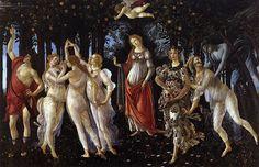 Primavera, 1482, Botticelli