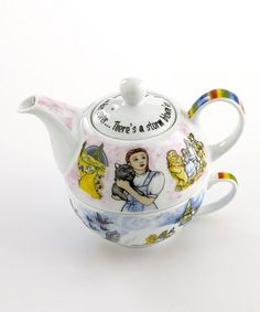 Take a look at this Wizard of Oz Tea-for-One Set by Cardew Design on #zulily today!