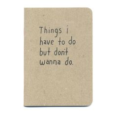 Things Mini Notebook ($50) ❤ liked on Polyvore featuring home, home decor, stationery, fillers, accessories, books, items and other