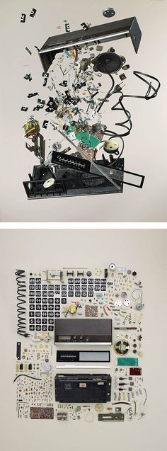 """""""Disassembled"""" by Todd Mclellan   Inspiration Grid   Design Inspiration"""