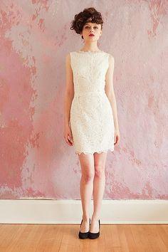 Sarah Seven - vestido de noiva curto em renda - Coleções Vestidos de Noiva 2013 #casarcomgosto