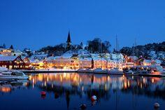 Grimstad Harbour by JR's Eyes, via Flickr #Norway ☮k☮ #Norge