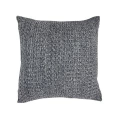 Reversible Knitted Cushion - Navy | Kmart