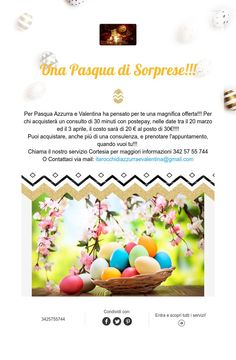 Una Pasqua di Sorprese!!!