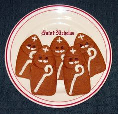 Small St. Nicholas cookies, perfect for a large group; cutter in our shop