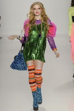oh it's me in the 90's (Betsey Johnson fashion collection, autumn/winter 2014)