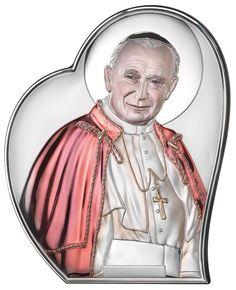 Obraz Święty Jan Paweł II w kolorze