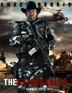 The Expendables 2 #movie chuck norris by agustin09