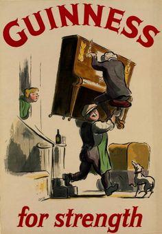 GUINNESS FOR STRENGTH (Edward Ardizzone, 1954)