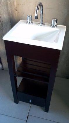 Resultado de imagen para vanitory para baño pequeño