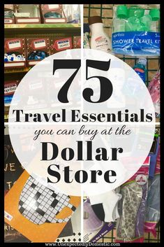 Needs tips on how to travel on a budget? Check out these 75 travel essentials yo… Needs tips on how to travel on a budget? Check out these 75 travel essentials you can buy at the dollar store! Beach Vacation Tips, Packing Tips For Vacation, Road Trip Packing, Road Trip Essentials, Travel Packing, Beach Trip, Vacation Trips, Travel Hacks, Vacation Travel