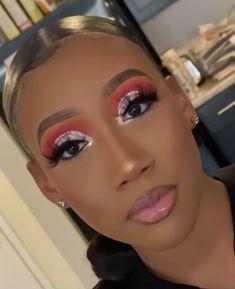 Glam Makeup Look, Glamour Makeup, Makeup Eye Looks, Black Girl Makeup, Creative Makeup Looks, Cute Makeup, Gorgeous Makeup, Pretty Makeup, Kiss Makeup