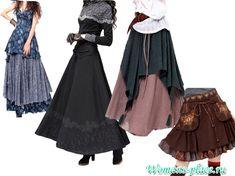 yubka-boho-6 Hippie Boho, Bohemian Style, Skirt Pants, Boho Fashion, Ballet Skirt, Casual, Skirts, Clothes, Dresses