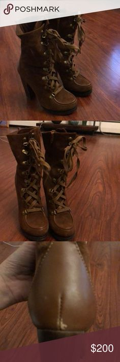 I just added this listing on Poshmark: Brown Suede Charles David boots. #shopmycloset #poshmark #fashion #shopping #style #forsale #Charles David #Shoes