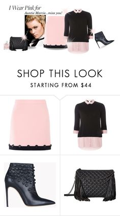 """For Auntie, with love"" by rvazquez ❤ liked on Polyvore featuring Boutique Moschino, Dorothy Perkins, Dsquared2, Ash, Jimmy Choo and IWearPinkFor"