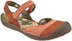 These are Keens also -- so cute -- Mary Janes that you can get soaking wet!
