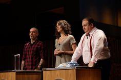 Henrique Fogaça, Paola Carosella e Erick Jacquin, os chefs-jurados do Masterchef Brasil